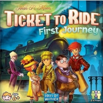 Ticket to Ride First Journey (Prime Ticket compare prices)