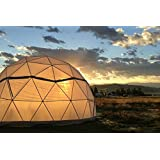 Vital Domes Geodesic Greenhouse 24 FT Diameter Dome