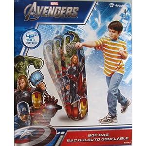 """Marvel Avengers Bop bag 42"""" Tall"""