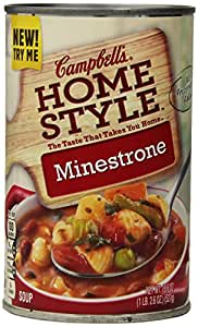 Campbell's Homestyle Minestrone Soup, 18.6 Ounce Cans (Pack of 12)