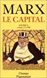 Le Capital,livre I, sections V� VIII