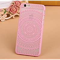 IPhone 5, IPhone 5s & IPhone 5s Back Cover - 3D Beautiful Retro Hollow Out Carving Flower Semi Hard Back Case...