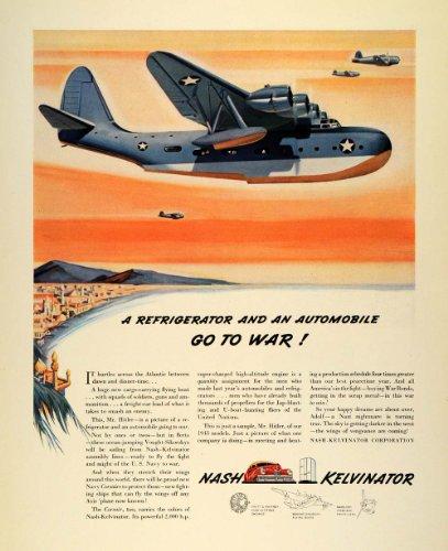 1942-ad-vought-sikorskys-nash-kelvinator-navy-world-war-ii-corsair-fighter-plane-original-print-ad