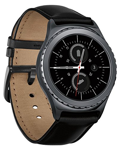 Samsung SM-R7320ZKAXAR Gear S2 classic Smartwatch for Most Android Phones - Black [並行輸入品]
