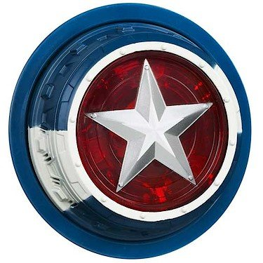 Marvel The Avengers 2012 Captain America Mission Star Pretend Play - 1