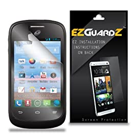 EZGuardZ ZTE Valet Z665C Screen Protector (Ultra Clear)