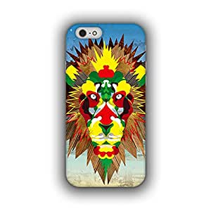 Caseque (Pro) The Abstract Lion Back Cover For Apple iPhone 6