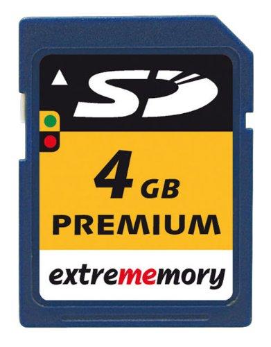 CARTE SD EXTREMEMORY PREMIUM 4GB