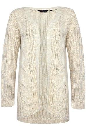 Cardigan Size 20-22 Cream at Amazon Women's Clothing store: Cardigan