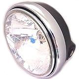 (maxima★select) マルチリフレクター ヘッドライト 180mm H4 バルブ付き XJR400 ZRX400 ゼファー400 ゼファー750 ゼファー1100