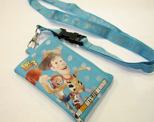 Toy Story 3 Lanyard with Bonus Coin Bag and Matching Pencil and Notebookd