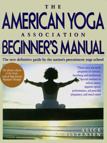 American Yoga Association Beginner's Manual, Alice Christensen
