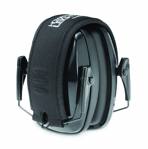 Howard Leight R-01523 Leightning L0F Ultra Lightweight NRR 23 Compact Folding Earmuff