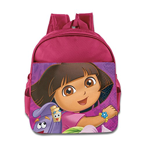 [Go, Diego, Go Dora Birthday Party Toddler School Backpack Pink] (Dora Diego And Boots)