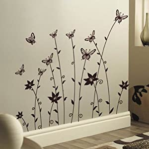Amazon.com - Butterflies Wall Sticker Decal JM7115 - Wall