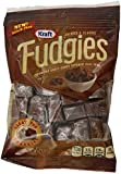 Kraft Caramels, Fudgies Chocolate, 4 Ounce (Pack of 12)