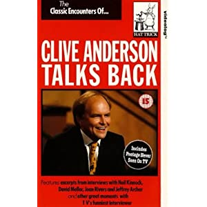 Clive Anderson Talks Back movie