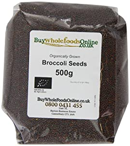 Buy Whole Foods Organic Broccoli Seeds 500 g