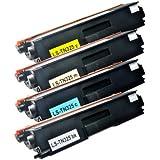 Set Toner für Brother TN 325, schwarz 4.000 Seiten, color je 3.500 Seiten, kompatibel zu TN 320/ 325/ 328