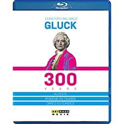 Christoph Willibald Gluck - 300 Years [Blu-ray]