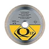 UPC 010306000024 product image for QEP 6-4003Q  Continuous Rim Diamond Blade, 4-Inch Diameter, 5/8-7/8-Inch Arbor,  | upcitemdb.com