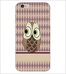 PrintDhaba Cute Girl D-4290 Back Case Cover for APPLE IPHONE 6 PLUS (Multi-Coloured)