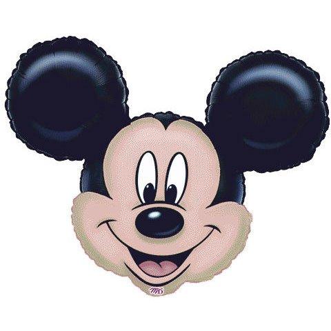 Imagen de Mickey Mouse Mini Head forma de globo