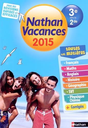 Cahier de vacances  - tout en un 3e - 2de