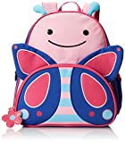 Skip Hop Zoo Backpack, Pink Butterfly, 3 Years Plus