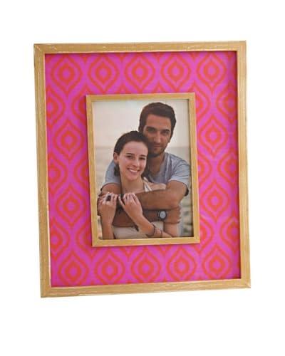 Shiraleah Ikat 5 x 7 Frame, Pink