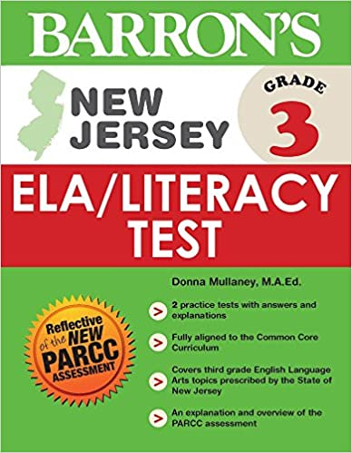 Barron's New Jersey Grade 3 ELA/Literacy Test