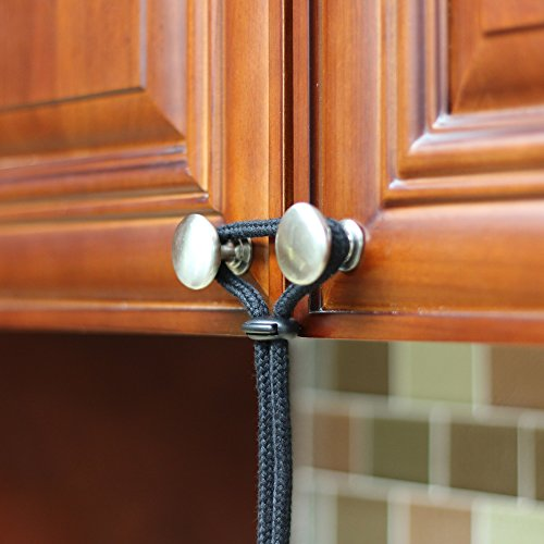 Baby Proofing Cabinet Latch 5 Pack Eco Friendly Kit For
