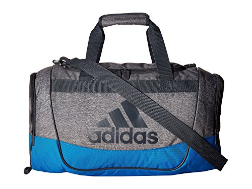 adidas Unisex Defender II Small Duffel Heather Print Grey/Bright Blue/Deepest Space/Clear Grey Duffel Bag (Defender Ii compare prices)