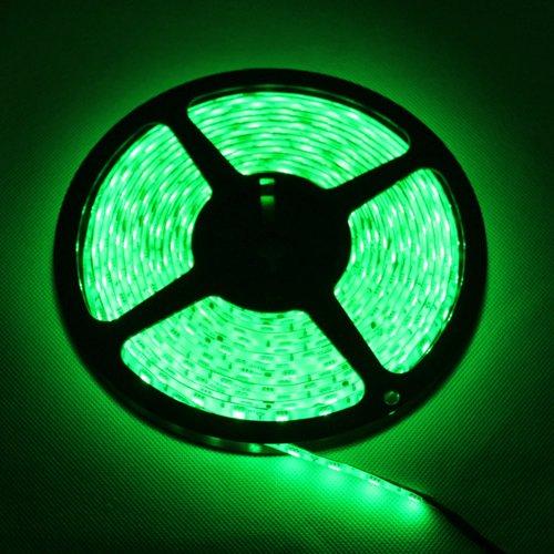 Green Led Strip Light Non-Waterproof Led Flexible Light Strip 12V With 60 Leds/M Smd 3528 Led 25M