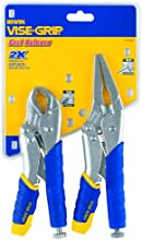 IRWIN Tools VISE-GRIP Locking Pliers Set, Fast Release, 2-Piece (1771883)