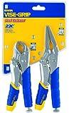IRWIN Tools VISE-GRIP Locking Pliers Set, Fast Release, 2-Piece (1771883)