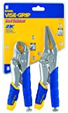 Irwin Tools 1771883 Vise-Grip Fast Release Locking Pliers Set, 2-Piece
