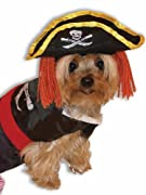 Forum Novelties 64862 Pet Pirate Costume Large - For Dogs & Cats