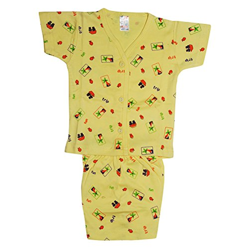 Josh Baby Boys' Baba Suit (Yellow_L)