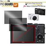 Micro Solution Digital Camera Anti-Fingerprint Display Protection Film (Pro Guard AF) for Nikon Coolpix P310 and Coolpix P300 // DCDPF-PGNKP300