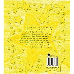 Erinnerungen sind kleine Sterne - Erinnerungsalbum für verwaiste Geschwister