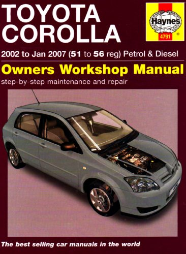toyota-corolla-petrol-diesel-02-jan-07-haynes-repair-manual-haynes-service-and-repair-manuals