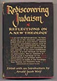 img - for Rediscovering Judaism, reflections on a new theology book / textbook / text book