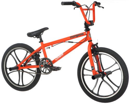 Mongoose Boy's Scan R30 Bike, 20-Inch, Orange