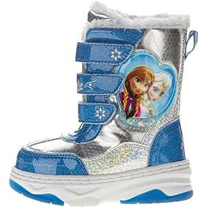 Amazon.com: Disney Frozen Toddler Girl's Silver Turquoise