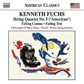 """String Quartet No. 5, """"American"""": II. Allegro agitato - Presto agitato"""