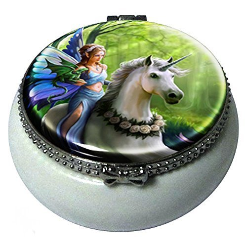 Realm Of Enchantment Mini Trinket Box By Anne Stokes by Anne Stokes Collection