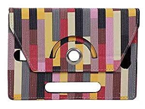 Designed Stylabs Tablet Book Flip Case Cover For Asus Fonepad 7 FE170CG (Universal)