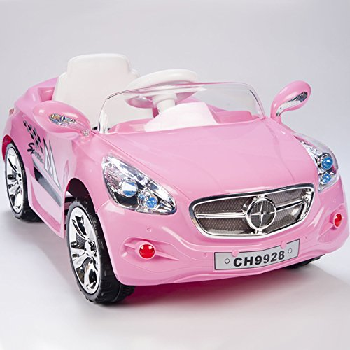 12V Ride on Car Kids RC Car Remote Control Electric Power Wheels W/ Radio & MP3 Pink