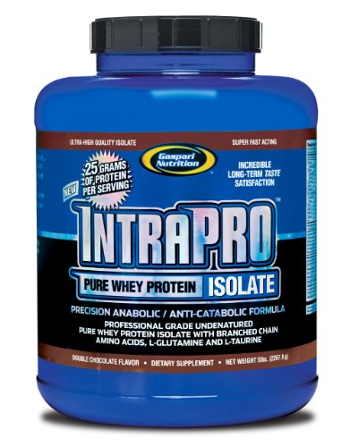 Gaspari Nutrition Intra-Pro Pure Whey, Double Chocolate Flavor, 5-Pounds
